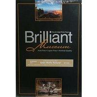 Brilliant Museum Inkjet Paper - Satin Matte Natural A3 25 Sheets - 300gsm Bp1320