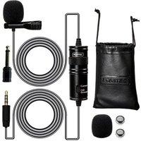 Fovitec Omnidirectional Condenser Lavalier Microphone Sp70 010