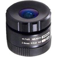 Marshall Electronics Marshall 3.9mm F2.0 Cs Mount Prime Lens V 553.9 5mp Vis Ir 1/2