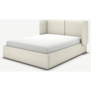 Made.com Ricola Super King Size Ottoman Storage Bed, Putty Cotton White, White