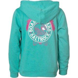 Saltrock - Carey - Girl's Pop Hoodie - Turquoise  38874039812281 General Clothing
