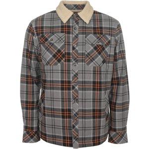 Saltrock - Harold - Men's Lined Heavy Weight Shirt - Grey  38874032996537 General Clothing