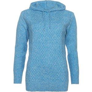 Saltrock - Hele Bay - Women's Knitted Hoodie - Light Blue  38874017857721 General Clothing