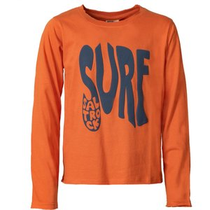 Saltrock - Surf - Kids Long Sleeve T-shirt - Orange  31853107445842 General Clothing