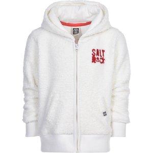 Saltrock - Teddy Bears Picnic - Kids Teddy Fur Zip Hoodie - White  38874348093625 General Clothing