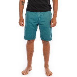 Saltrock Sennen - Men's Chino Short - Green  31446494052434 General Clothing