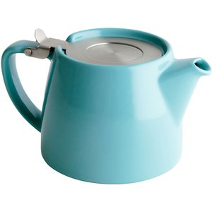For Life Stump Loose Leaf Teapot - 10 Stunning Colours - Turquoise The Wee Tea Company 36737