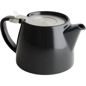 For Life Stump Loose Leaf Teapot - 10 Stunning Colours - Black The Wee Tea Company 36735