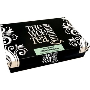 Luxury Tea Gift Selection Box Of 15 Pyramid Tea Bags - Peppermint The Wee Tea Company 31694