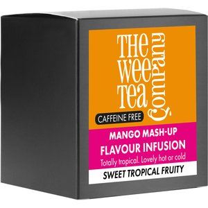 Mango Tea Mash Up - Listed In The Top 5 Most Popular Fruit Infusions We Love. The Wee Tea Company 27396