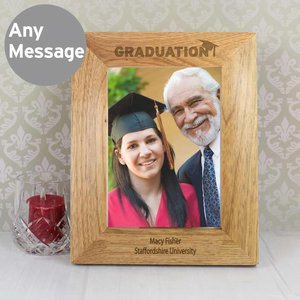 5x7 Graduation Wooden Photo Frame For You Personalised Gifts P0111a70