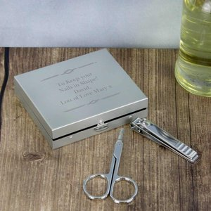 Any Message Manicure Set For You Personalised Gifts P0104h80