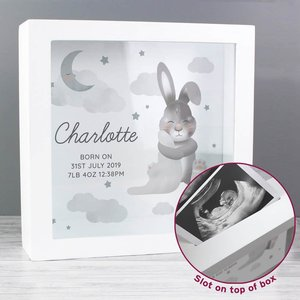 Baby Bunny Memory Keepsake Box For You Personalised Gifts P0111c24