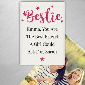 #bestie Fridge Magnet For You Personalised Gifts P0805h64