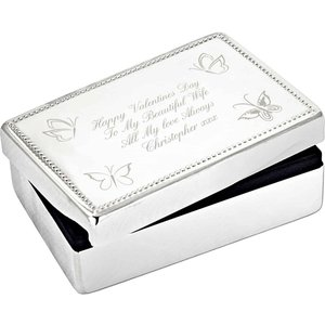Butterfly Rectangular Jewellery Box For You Personalised Gifts P0102c66