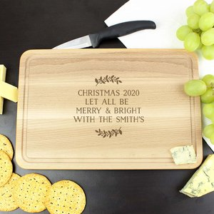 Christmas Wreath Chopping Board For You Personalised Gifts P0111a97