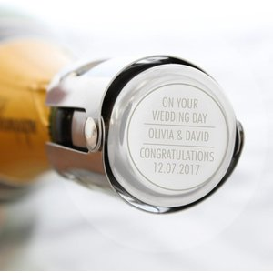 Classic Bottle Stopper For You Personalised Gifts P0104j37