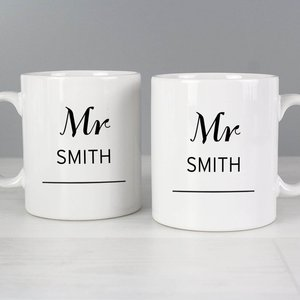 Classic Mug Set For You Personalised Gifts P0306k54