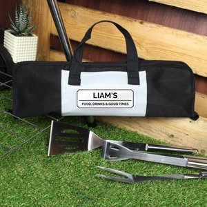 Classic Stainless Steel Bbq Kit For You Personalised Gifts P0210c55