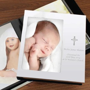 Cross Photo Frame Album 6x4 For You Personalised Gifts P0104h43