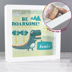 Dinosaur Fund And Keepsake Box For You Personalised Gifts P0111c03