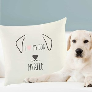Dog Features Cushion Cover For You Personalised Gifts P0510f49