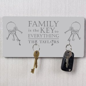 Family Key Hooks For You Personalised Gifts P071154