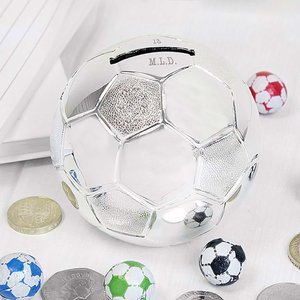 Football Money Box For You Personalised Gifts P0102t06