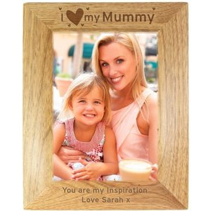 I Heart My... 5x7 Wooden Photo Frame For You Personalised Gifts P011414