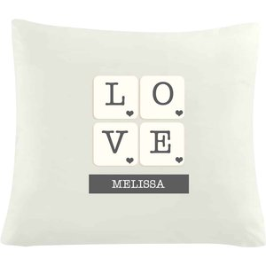 Love Tiles Cushion Cover For You Personalised Gifts P0510d96