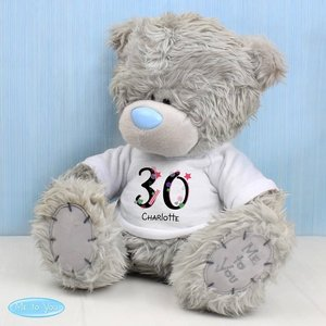 Me To You Bear With Big Age Birthday T-shirt For You Personalised Gifts P0710h66