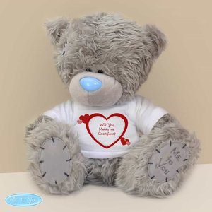 Me To You Bear With Hearts T-shirt For You Personalised Gifts P0710h68