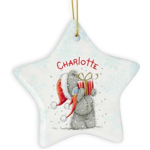 Me To You Star Christmas Decoration For You Personalised Gifts P0805d32