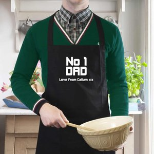 No1 Dad Apron For You Personalised Gifts P0210a81