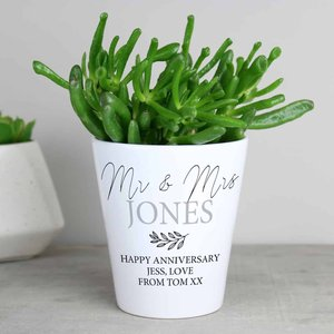 Personalised Free Text Plant Pot For You Personalised Gifts P0805l82