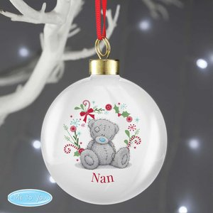 Personalised Me To You 'for Nan, Grandma, Mum' Christmas Bauble For You Personalised Gifts P0305h84