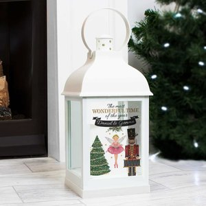 Personalised Nutcracker White Lantern For You Personalised Gifts P1007c83