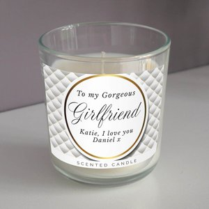 Personalised Opulent Scented Jar Candle For You Personalised Gifts P0512ac25