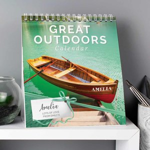 Personalised Outdoors Desk Calendar For You Personalised Gifts P0512ab21