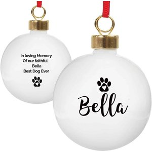 Personalised Pet Bauble For You Personalised Gifts P0305i22