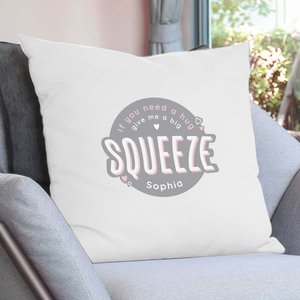Personalised Squeeze Me Cushion Cover For You Personalised Gifts P0510i75
