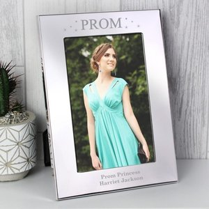 Prom Night Silver 4x6 Photo Frame For You Personalised Gifts P0104j54