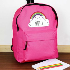 Rainbow Pink Backpack For You Personalised Gifts P0710g89