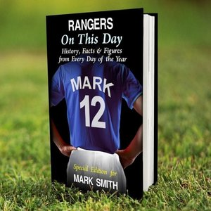Rangers On This Day Book For You Personalised Gifts P0512v14