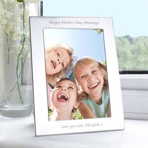 Silver 5x7 Photo Frame For You Personalised Gifts P0102s60