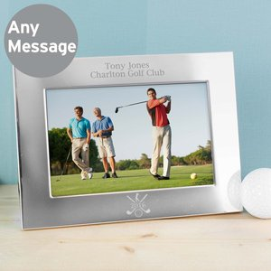 Silver 6x4 Golf Photo Frame For You Personalised Gifts P0104i19