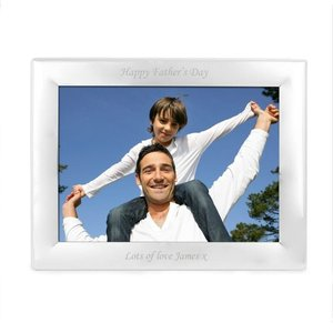 Silver Plated 7x5 Landscape Photo Frame For You Personalised Gifts P0102f11