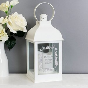 Soft Watercolour White Lantern For You Personalised Gifts P1007c16