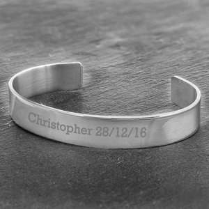 Stainless Steel Bangle For You Personalised Gifts P0103a99