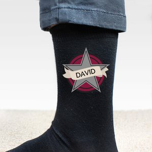 Star Men's Socks For You Personalised Gifts P0710h77